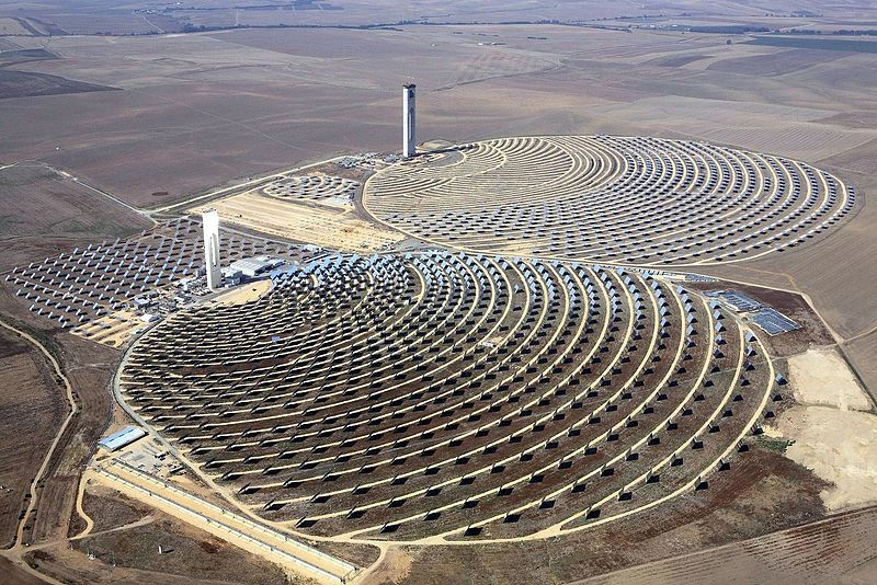 Concentrating Solar Thermal Power Plant
